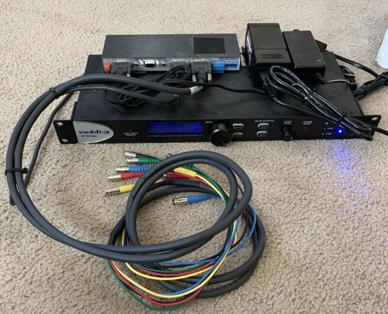 Vaddio 998-8215-000 Digital AV Audio Video Conference Bridge Bundle