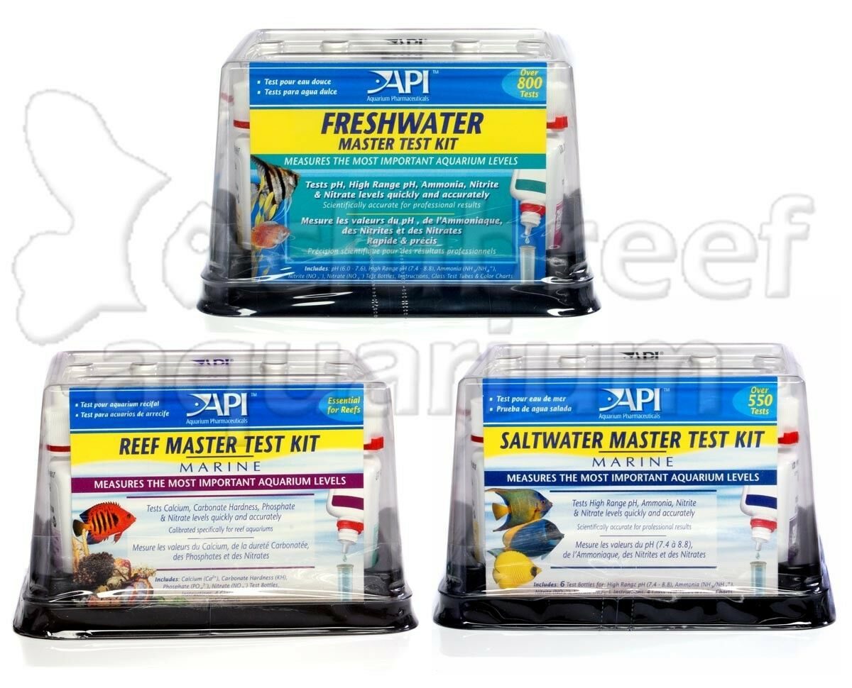 API Master Multi Liquid Type Test Kits Freshwater/Saltwater/