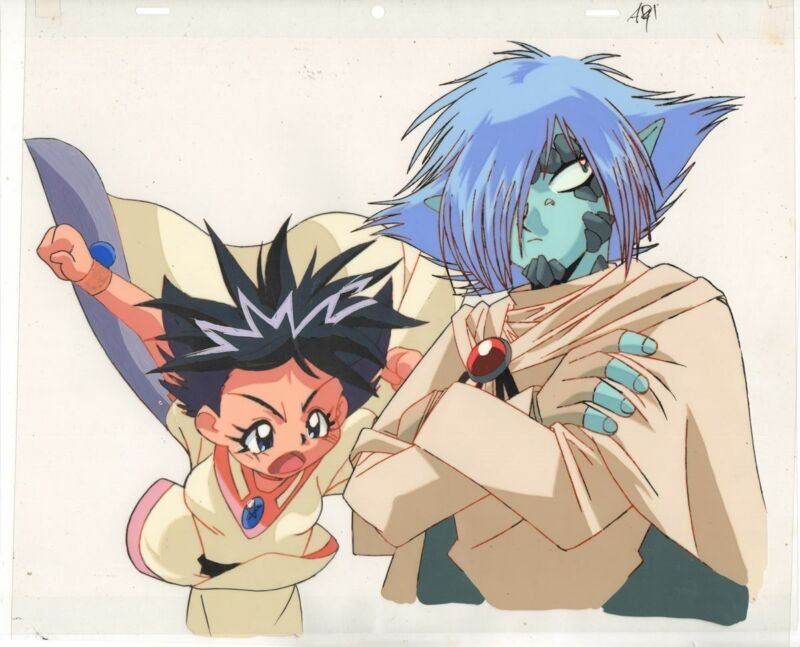 Anime Cel Slayers #237