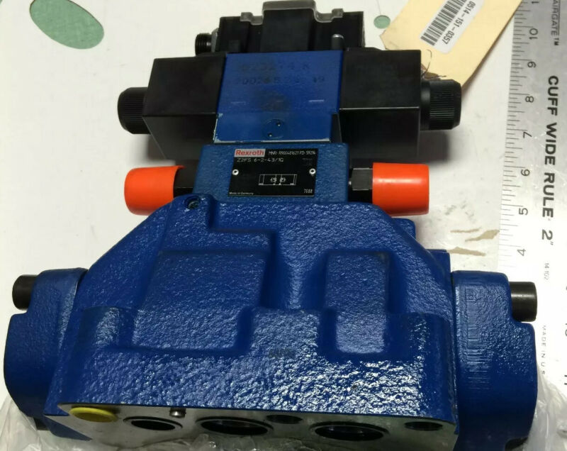 NEW REXROTH R900904406 HYDRAULIC VALVE,R978008115,4WE6J61/EW110N9DK25L,823274,CE