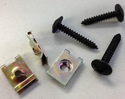 25 x Blechmuttern 4,2 mm  und   25 x Blechschrauben  4,2 x 16 mm  ( 50 Teile )
