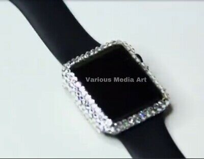 Bling Screen Protector Cover TPU Case for Apple Watch iWatch Series 1-5 (Clear Sale)
