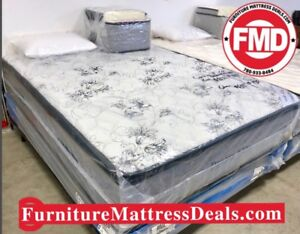 "New Queen Size 60""x78"", 14"" Thick Euro-top Mattress Only $600"