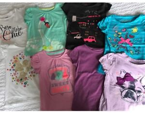 Toddler girl T-shirts. Size 4T