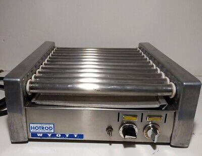 Apw Wyott Hotrod Hr-20 Hot Dog Grill 13 Rollers - Flat Top