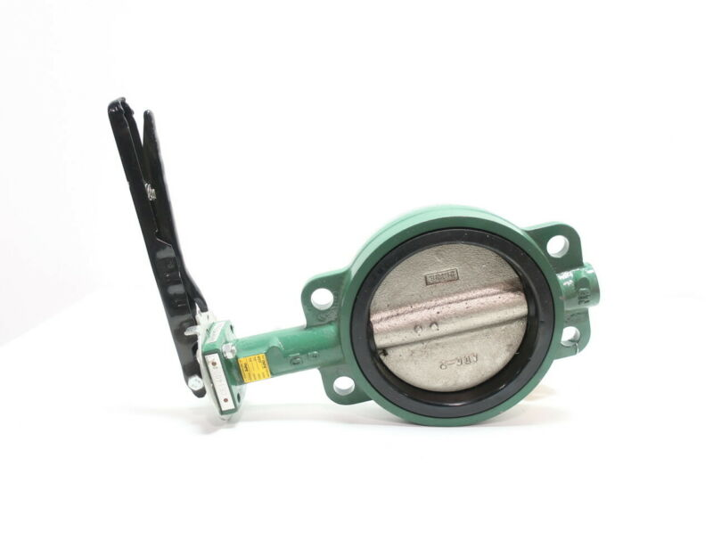 Center Line 57 Manual Iron Wafer Butterfly Valve 6in