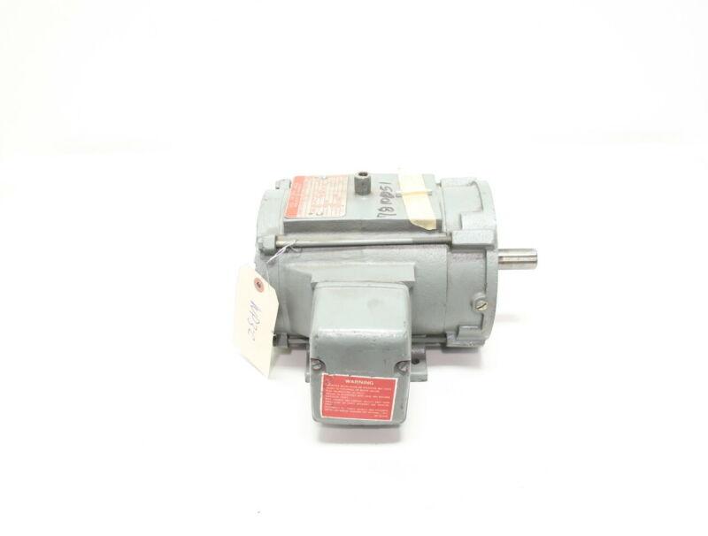 General Electric 5K143KK2045B 143tc 3ph 3/4hp 1735rpm 230/460v-ac Ac Motor