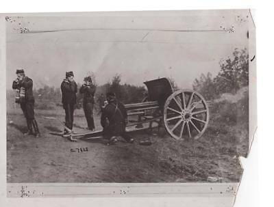 Belgiann Guns in Action WWI - military still