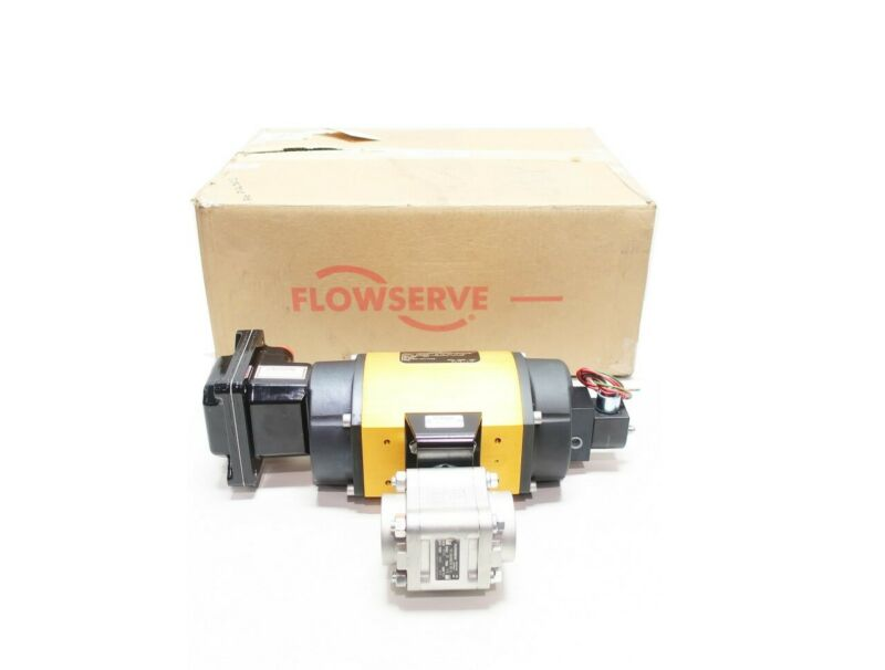 Flowserve 11/2 FAM446666RTSW Worcester Stainless 1-1/2in Socket Weld Ball Valve