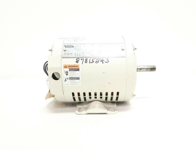 Lincoln Electric KM420 56 3ph 3/4hp 3420rpm 208-230/460v-ac Ac Motor