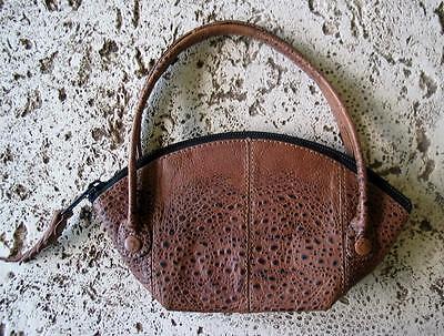 New Bufo Marinus Cane Toad Skin Leather Purse Collectible Handbag