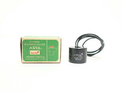 Asco 27-462-1-d Red-hat Solenoid Valve Coil 120v-ac