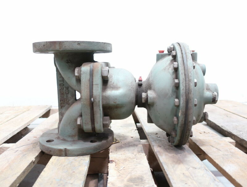 Grinnell 303-109 Iron Flanged 3in Diaphragm Valve
