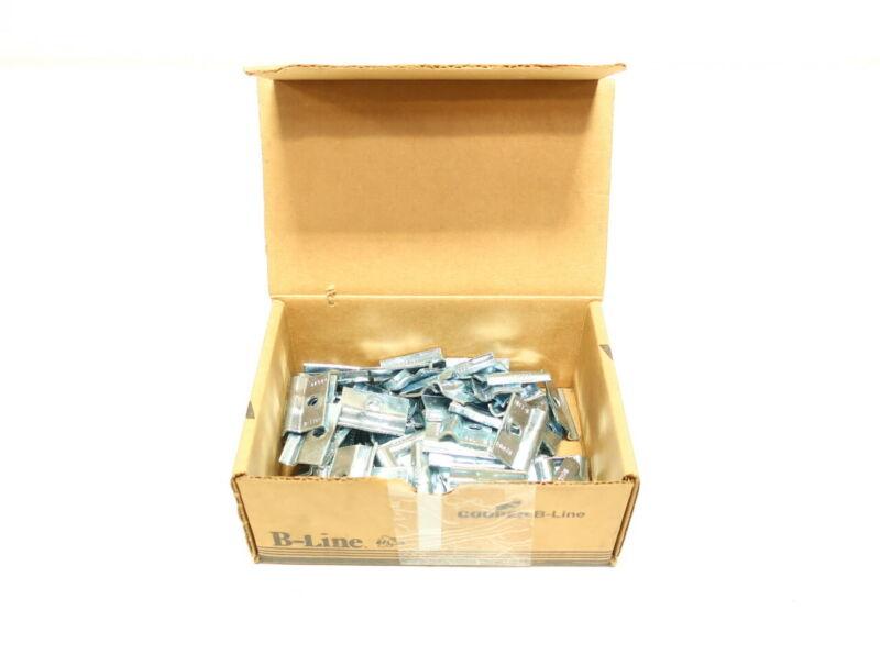 Box Of 100 Cooper B2084ZN Tubing Clamp 1/4in