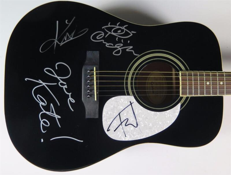 THE B-52's Signed Autograph Guitar by All 4 Members