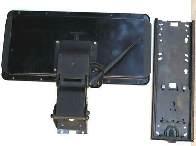 Ergonomic Adjustable Keyboard Tray Under Desk Mount Slide Tilt Swing Mouse Tray