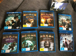 Harry Potter Complete 8-Film Collection (Blue-ray , 8-Disc Set) Springwood Logan Area Preview