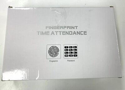 New Fingerprint Time Attendance Biometric Employee Check In