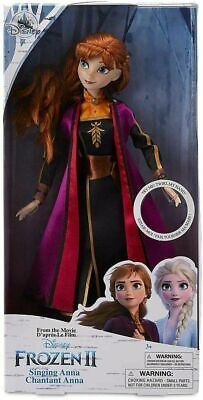"Disney Frozen 2 Anna Singing Doll 11"" ~ Singing The Next Right Thing ~ New"