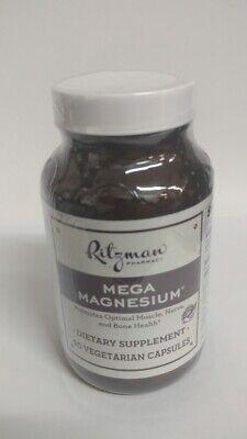 Ritzman Pharmacy Mega Magnesium, 90 Vegetarian Capsules