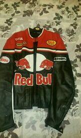 Leather men jacket mint condition