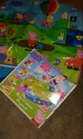 Peppa pig learn and play electronic mat