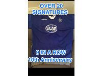 RANGERS 9 in a row - 10th Anniversary