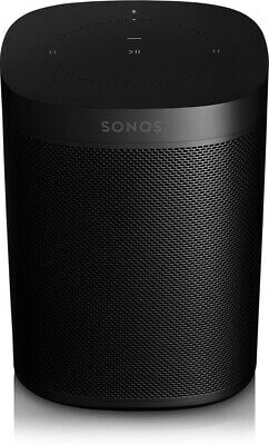Sonos One (Gen 2) Smart Speaker with Alexa - Black