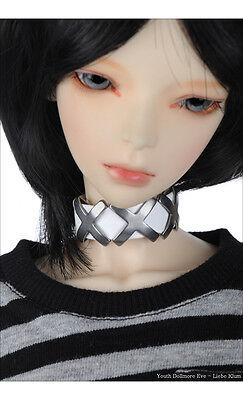 DOLLMORE BJD Necklace NEW MSD /& Model Size Triple XXX Choker White ; Only Fo