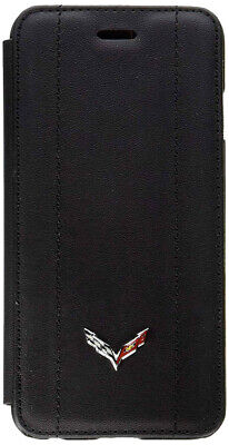 "CORVETTE  iPHONE 6 PLUS / 6S PLUS BOOK STYLE CUSHION COVERED ""HARD CASE"""