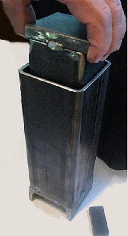 Devardi Glass Frit Maker~Smasher, For Lampwork Beads
