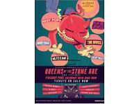 Queens of the Stone Age vip tickets - 30th June Finsbury Park