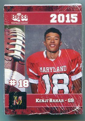 NEW 2015 Big 33 Maryland MD High School Football FACTORY SEALED w/ Terps Rutgers
