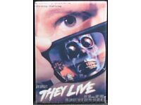 THEY LIVE ALTERNATIVE WALL POSTER PRINT NWO RODDY PIPER SZ A4 A3 A2 A1