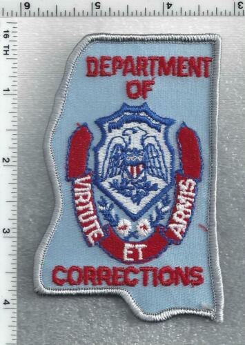 Department of Corrections (Mississippi) 2nd Issue Shoulder Patch