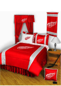 Detroit Red Wings Bedding. (Single)