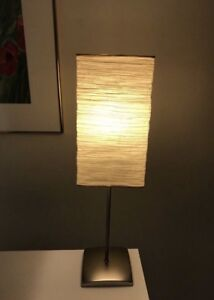 Desk Lamp with Rice Paper