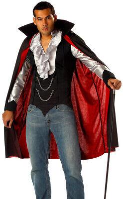 Mens Cool Vampire Fancy Dress Costume Deluxe Vampire - Coole Vampir Kostüme