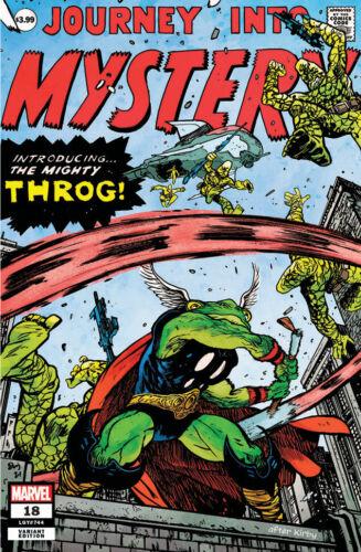 Thor #18 Exclusive Daniel Warren Johnson. Throg Variant Cover - Pet Avengers