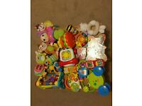 Selection of children's toys