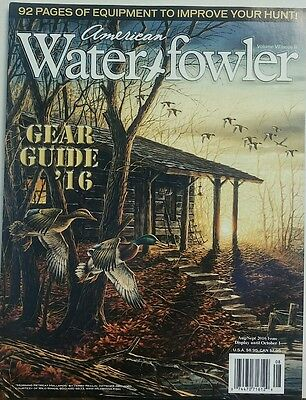 (American Water Fowler Aug Sept 2016 Gear Guide 2016 Equipment FREE SHIPPING sb)
