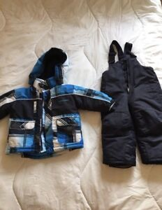2T Boys Snowsuit.
