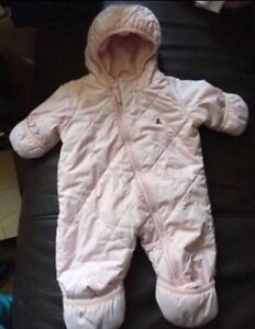Baby Girl Snowsuit!