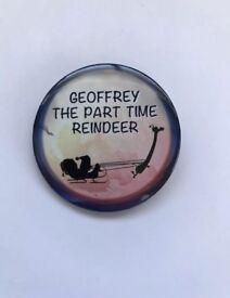Collectible pin badge