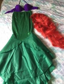 Ariel little mermaid adult Halloween costume