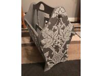 Shabby chic magazine rack for sale