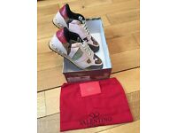 VaIentino Rockrunner Pink Camo Unisex Men Women Trainers Sneakers Shoes New with Box & Dustbag