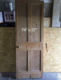 Victorian panel door