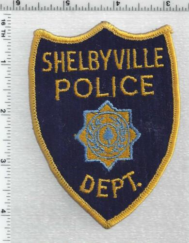 Shelbyville Police (Tennessee) 1st Issue Shoulder Patch