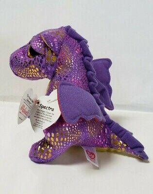 Beanie Boo Stuffed Animals (Ty Beanie Boos 6'' SPECTRA The Dragon Stuffed Plush Animals(Michael's)
